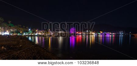 Night View Of Marmaris 1