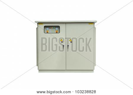 Capacitor Bank Cabinet Isolated