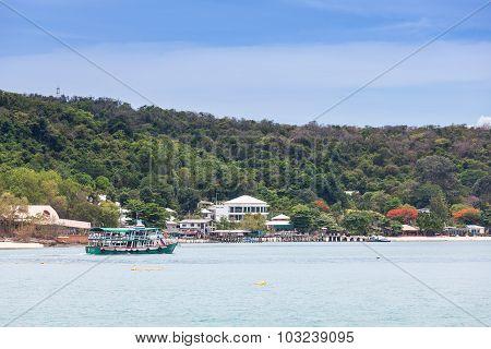 Boat Shuttle At Koh Samed, Thailand