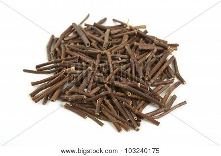Dry Marsh Cinquefoil, Potentilla Palustris. Dry Medical Herbs