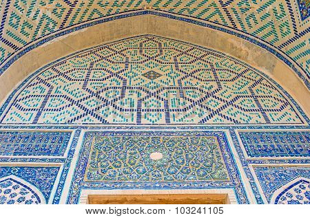 The Blue Tracery