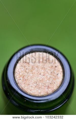 Macro Closeup Wine Bottle Cork