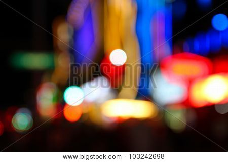 Defocused Las Vegas