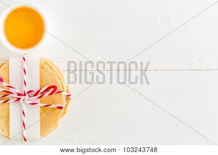 Thai Dessert Background / Thai Dessert / Thai Dessert On White Background