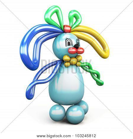Balloon Animal Bunny Hare