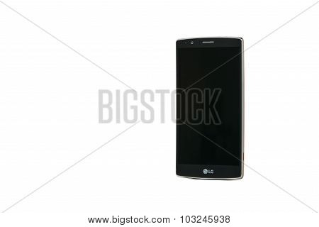 Gimpo, Korea - August 14, 2015: Lg G4 Smartphone