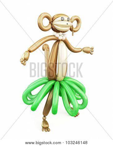 Balloon Animal Monkey