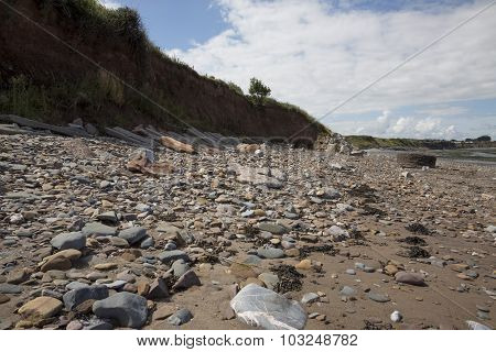 Doniford Beach,  Exmoor, Uk