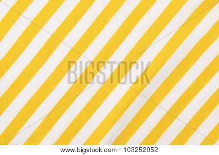 White And Yellow Striped Background.