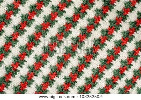 Striped Sweater Background.