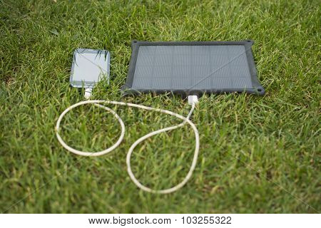 Mobile Phone Charging With Solar Energy - Charger
