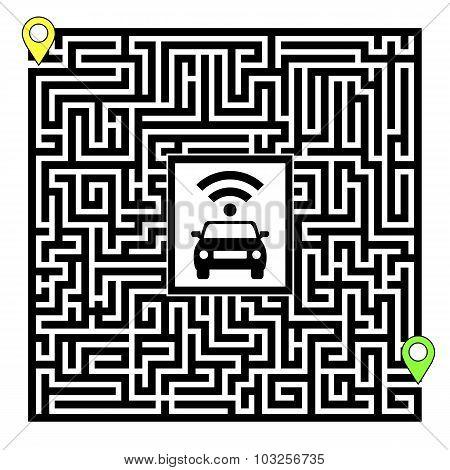 Concept Of Autonomous Car