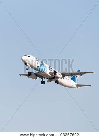 Airbus A321-231 Egyptair