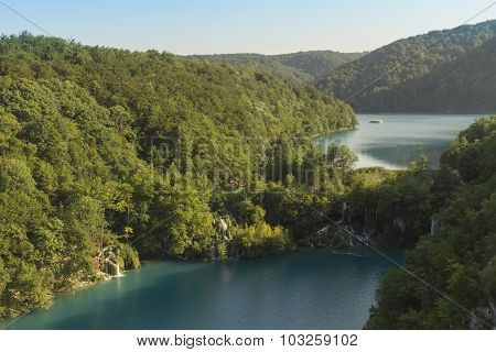 View At Plitvice Lakes