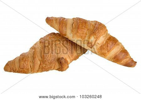 Sweet Croissant With Chocolate