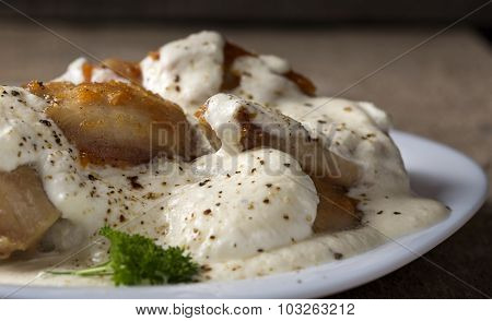 Chicken With Sour Cream