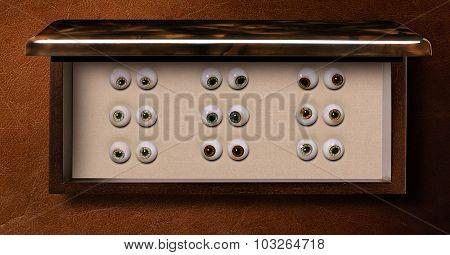 Box of Glass eyes