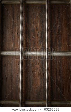 close guitar string