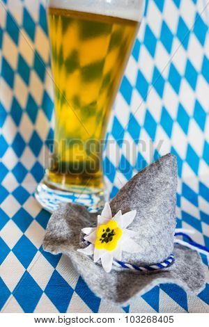 Oktoberfest Hat and Beer