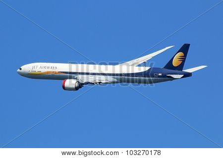 Jet Airways Boeing 777-300 Airplane