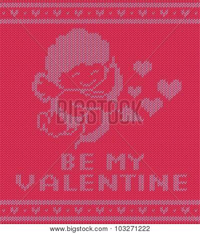 Valentine Sweater Ilustration