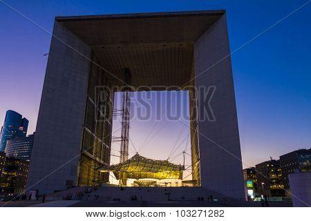 The Grand Arch Of Defense.