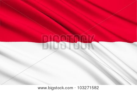 Flag Of Indonesia - South East Asia