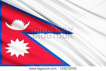Flag Of Nepal