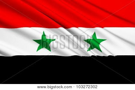 Flag Of Syria - Middle East