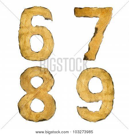 Old, Vintage Number 6789