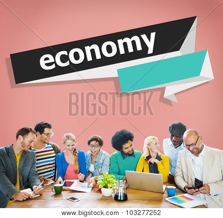 Economy Finance Investment Revenue Savings Costs Concept