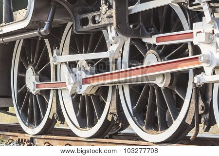 Steam Train, Wheels.