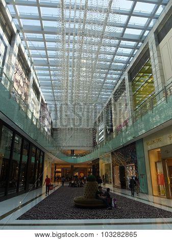 Dubai Mall in Dubai, UAE