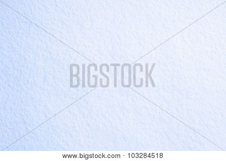 Photo blue snow for your text