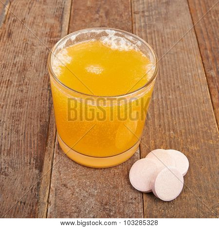 Soluble vitamin orange