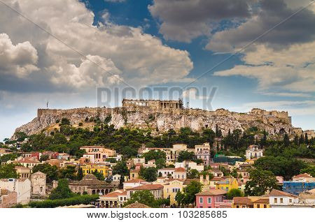 View Of Acropolis, Parthenon, Athens, Greece