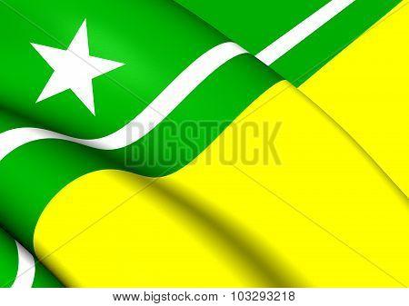 Flag Of Boa Vista City (roraima), Brazil.