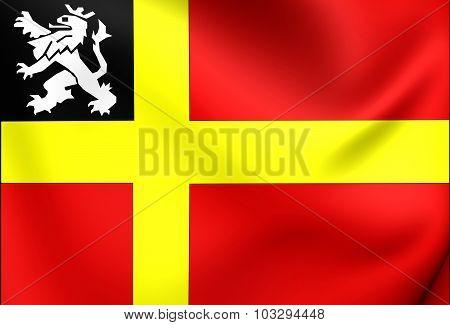 Flag Of Utrechtse Heuvelrug (utrecht), Netherlands.