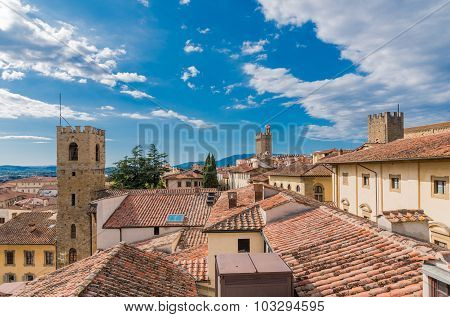 Arezzo View From