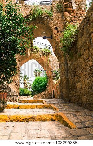 Old Stone City Jaffa In Tel Aviv