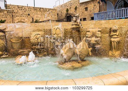 Fountain Of Zodiac Signs Jaffa, Tel Aviv Israel