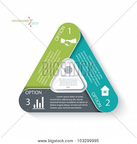 Business Concept Design. Infographic Template Can Be Used For Presentation, Web Design, Diagram