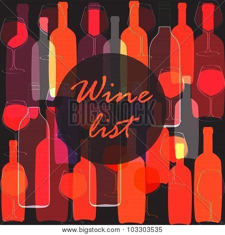 Wine Bottle, Glass.