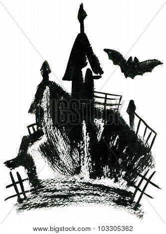 Palace And Bats