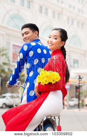 Happy Vietnamese Couple