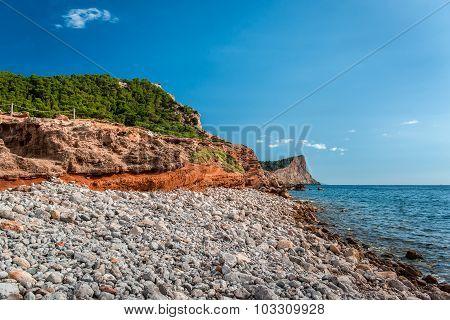 Experimental Beach In Cap Des Falco In Ibiza