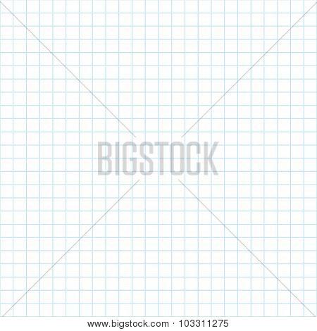Notebook paper pattern. Seamless pattern school theme. Simple background