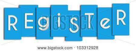 Register Blue Stripes