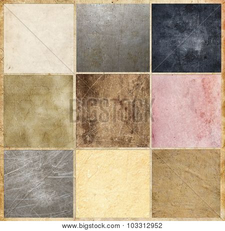 Collection Of Vintage And Grunge Backgrounds