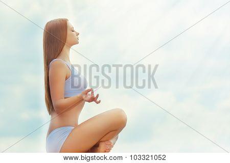 In The Lotus Posture